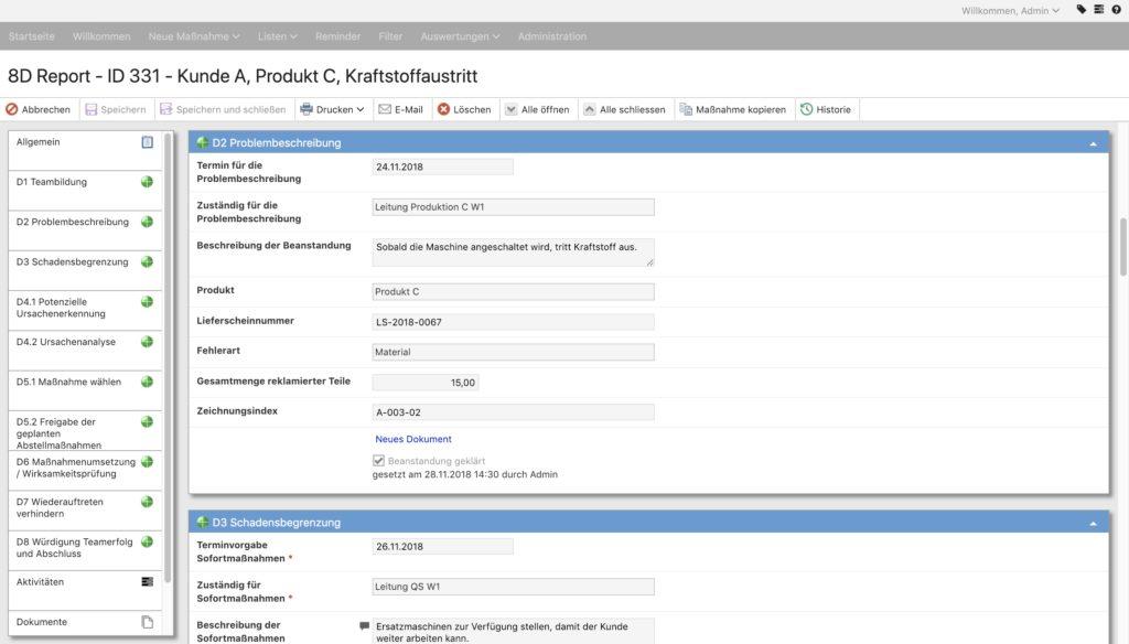 Eine gute Maßnahmenmanagement-Software sollte für jeden Anwender individuell konfigurierbar sein