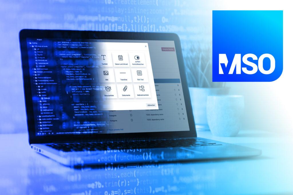 Out-of-the-Box (Standard-) oder Custom (Individual-) Softwarelösung? MSO liefert beide Optionen.