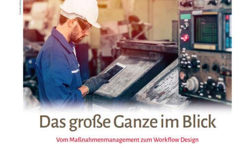 In der aktuelle Ausgabe der QZ schreibt Roland Kölsch darüber, wie die BOSIG GmbH MSO zur internen Prozessoptimierung nutzt.