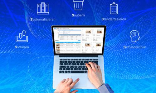Mit MSO können Sie 5S Begehungen und Audits ganz einfach digitalisieren und automatisieren.