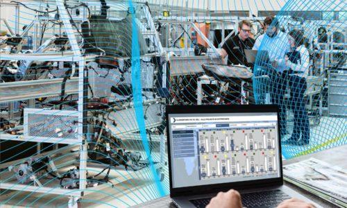 Smart Production beschreibt immer die nahtlose Verbindung von digitaler und realer Welt und die Vernetzung der gesamten Wertschöpfungskette.